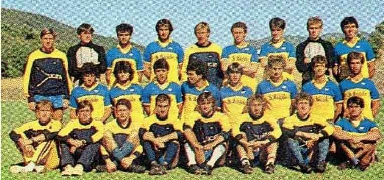 Polisportiva Licata 1985-'86. </font                           class=