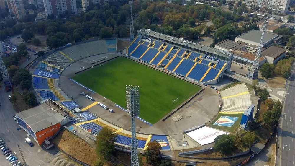 Stadio del Levski Sofia in attesa del completamento